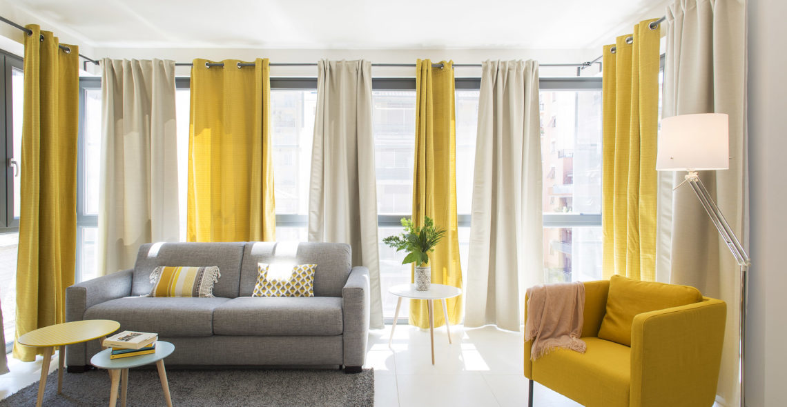Yellow Holiday House