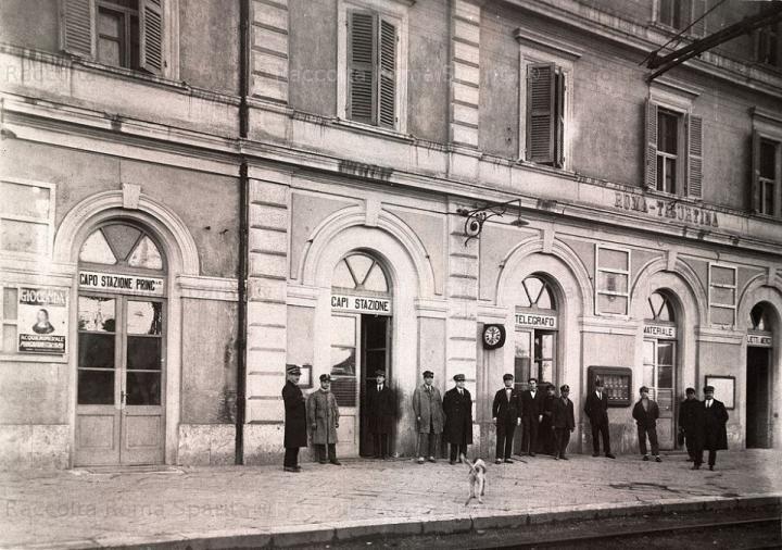 Foto Storica della Stazione Tiburtina di Roma